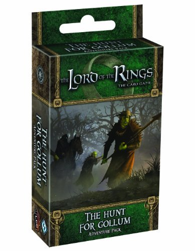 Fantasy Flight Games The Lord of the Rings: The Card Game - The Hunt for Gollum Adventure Pack