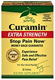 Terry Naturally Curamin Extra Strength, Safe and Powerful Pain Relief with BCM95 Curcumin 30 Tabs