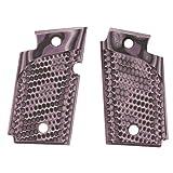 Hogue 98728 Sig P938 Ambidextrous Extreme Series Grip, Piranha G-Mascus G10, Purple Lava
