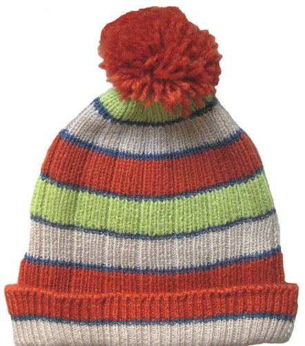 Handmade Alpaca Winter Hat - Pumpkin Fields (Made to Order in any size) by BARBERY Alpaca Accessories