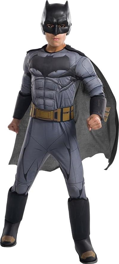 DC Comics - Disfraz de Batman Premium para niño, infantil 5-7 años (Rubies 640170-M)