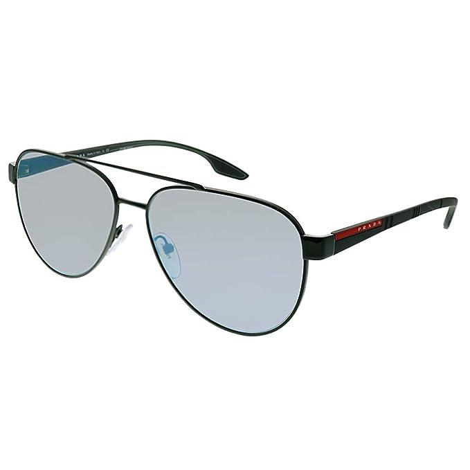 4525022691bb Sunglasses Prada Linea Rossa PS 54 TS 289297 GREEN: Amazon.ca: Clothing &  Accessories