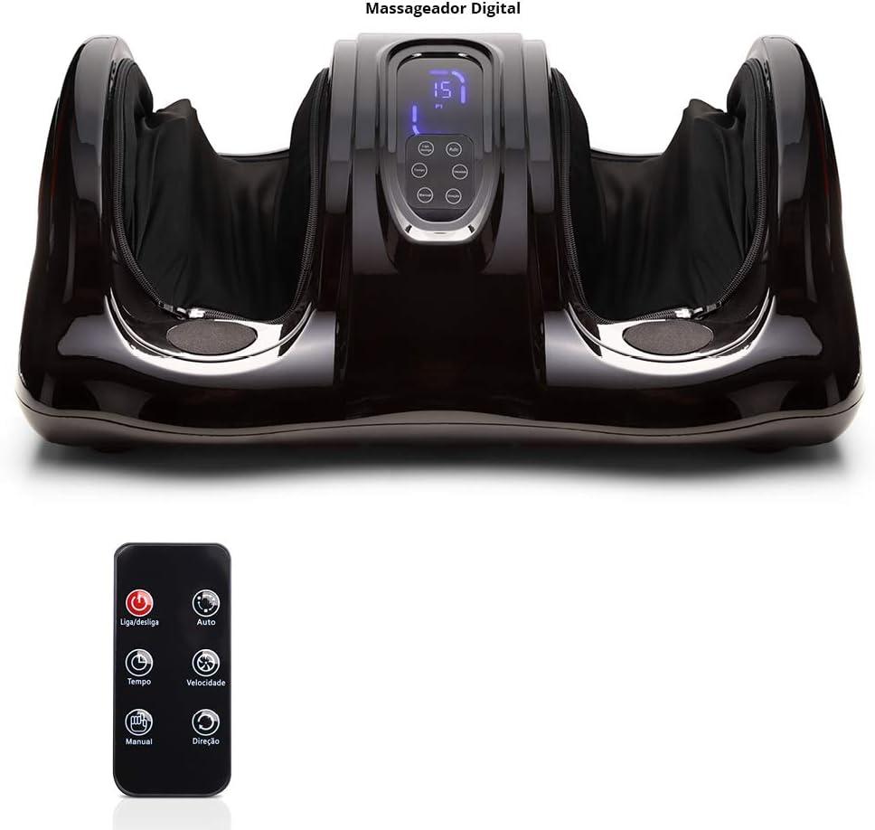 Massageador para os Pés Foot Massager Digital Relax Bivolt