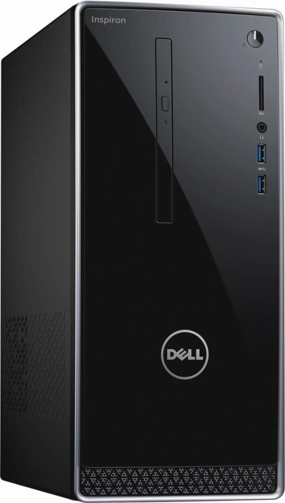 Dell Inspiron 3668 Desktop PC - Intel Core i3-7100, 8GB RAM, 1TB 7200RPM Hard Drive, Intel HD Graphics, DVD, HDMI, USB 3.0, Bluetooth, Windows 10