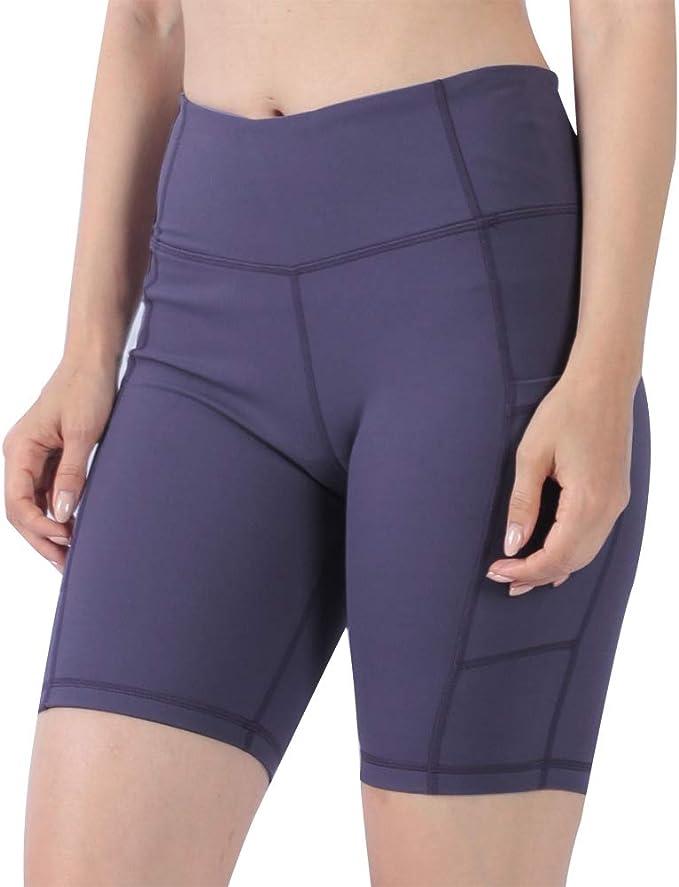 Amazon.com: Mifidy - Pantalones cortos de yoga para mujer ...