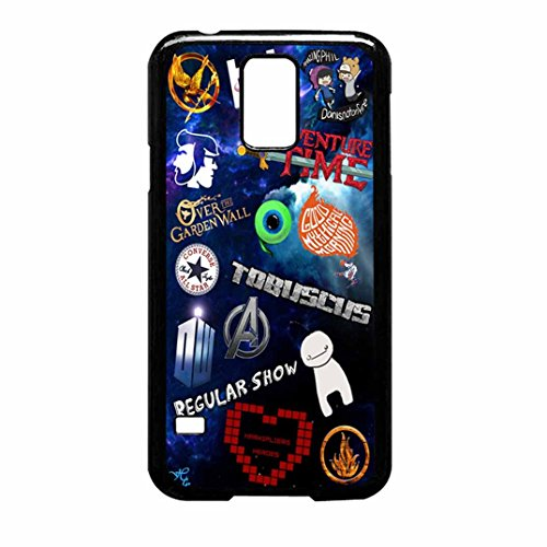 Cover Sweetiebelle22 S Fandom Cover Case / Color Noir Rubber / Device Samsung Galaxy S5