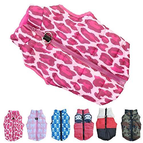 Duseedik Pet Coat, Puppy Fashion Camouflage Cloth Dog Winter Warm Cotton -