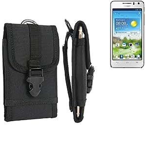 bolsa del cinturón / funda para Mobistel Cynus T1, negro | caja del teléfono cubierta protectora bolso - K-S-Trade (TM)