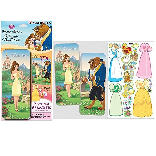 (Disney Princess Beauty & the Beast Magnetic Paper Dolls Collectors Series)