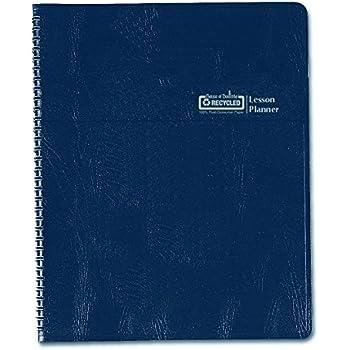 House of Doolittle Lesson Planner, Blue, 8.5 x 11 Inch (HOD51007)