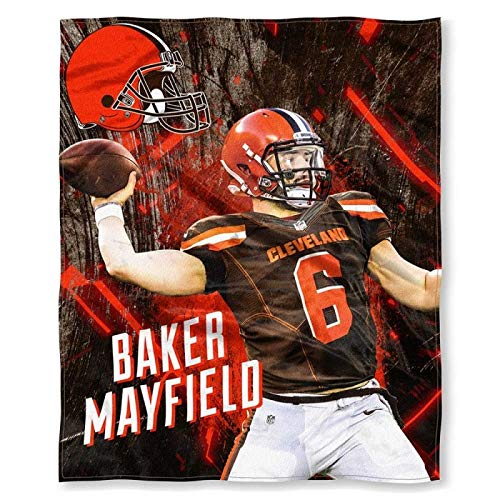 The Northwest Company Baker Mayfield Cleveland Browns NFL Silk Touch 50