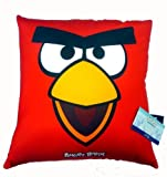 Official Licensed GENUINE Angry Birds Red Pillow Cushion - Licensed Angry Birds Merchandise