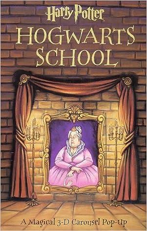 Buy Harry Potter Hogwarts School 3 D Carousel Pop Up Book Book