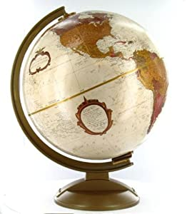 RESERVED Vintage world globe Replogle world globe made in