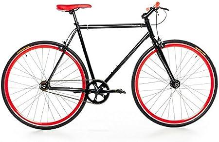 Moma Bikes Bicicleta Fixie, Fixed Gear & Single Speed, L-XL (1,76 ...