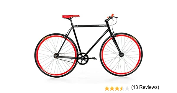 Moma Bikes Bicicleta Fixie, Fixed Gear & Single Speed, L-XL (1,76 ...
