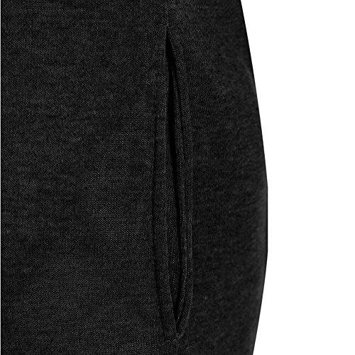 Veste Pull Manteau Capuche Sweat À Décontracté À Noir Manches Automne Mode Longues Femmes Hiver Streetwear À Capuche Sweat Élégant Shirt Hoodies ❤ Vicgrey PxZg11