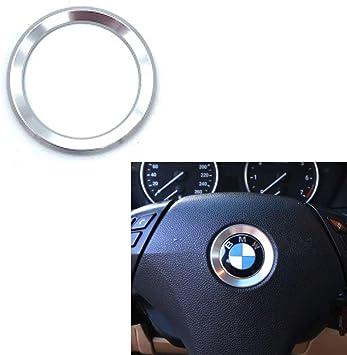 DEMILLO Aluminum Steering Wheel Center Decoration Cover Trim For BMW 1 2 3 4 5 6 Series X4 X 5 X6 F20 F21 F22 F23 F30 F31 F32 F33 F35 F36 F10 F11 F12 F13 F26 F15 F16 red