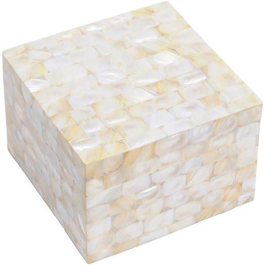 Artisanti SUVA - Caja Decorativa (tamaño Grande), diseño de nácar ...