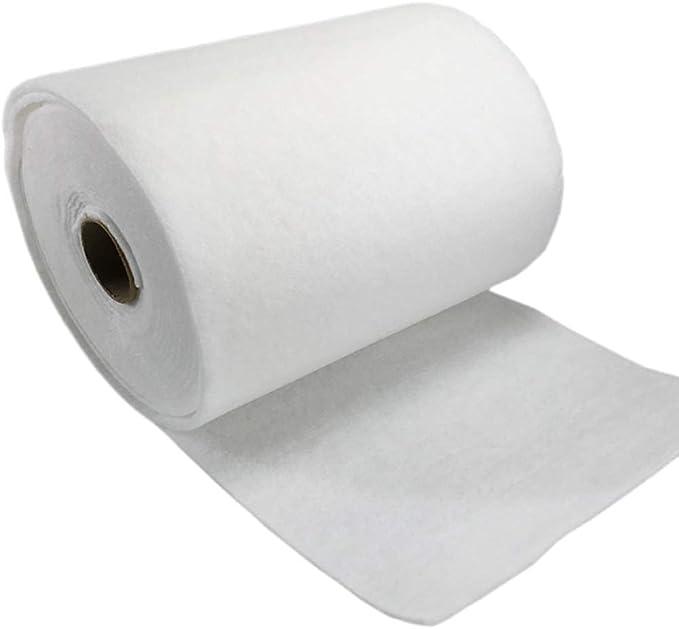 Haofy 3MM 1 Rollo de Filtro de Aire Blanco algodón algodón ...
