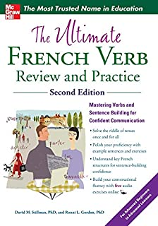 The Ultimate French Verb Review and Practice, 2nd Edition (0071797238) | Amazon price tracker / tracking, Amazon price history charts, Amazon price watches, Amazon price drop alerts