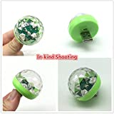 4piece/Box,Onejay,LED Small Magic Ball,Micro USB Mini RGB LED Bulb 4W Stage Light Sound Control Club Pub Disco Party Music Crystal, for Android or iPhone