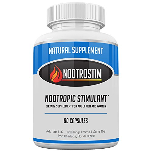 Addrena NootroStim- Nootropic Brain Supplements & Stimulants for Energy &...