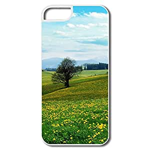 Great Design Hard Cover Nature IPhone 5 5s Cases - Dandelion Field