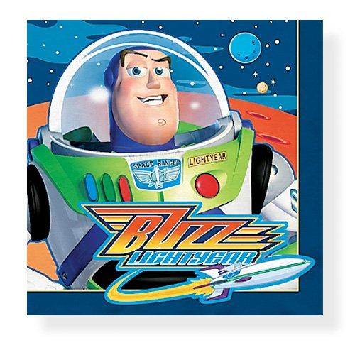 Buzz Lightyear Beverage Napkins, 16ct