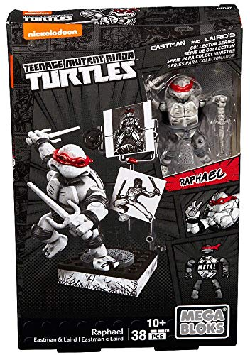 Mega Bloks Teenage Mutant Ninja Turtles - Raphael Eastman & Laird Collector's Figure by Mega ()