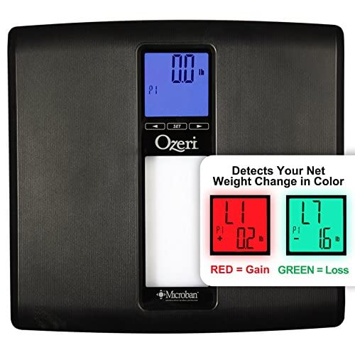 Ozeri ZB20 WeightMaster II 440 lbs Digital Bath Scale with BMI and Weight Change Detection, Black
