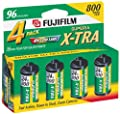 Fujifilm Superia 800 Speed 24 Exposure 35mm Film - 4 Pack