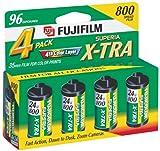 Photo : Fujifilm Superia 800 Speed 24 Exposure 35mm Film - 4 Pack
