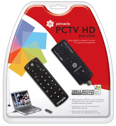 PCTV HD Pro Stick USB2 HDTV Tuner for Free - Pinnacle Mint