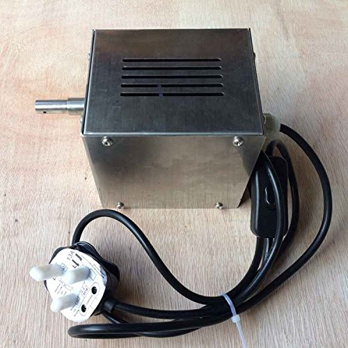 Generic 132lbs 60kg 110v 220v electric charcoal bbq spit for Bbq spit motors electric