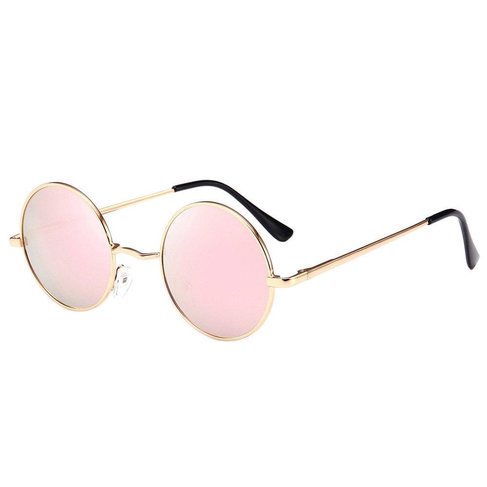 Women Sunglasses Aolity Man Vintage Round Frame Unisex Sunglasses Retro Eyewear Sun Eyewear