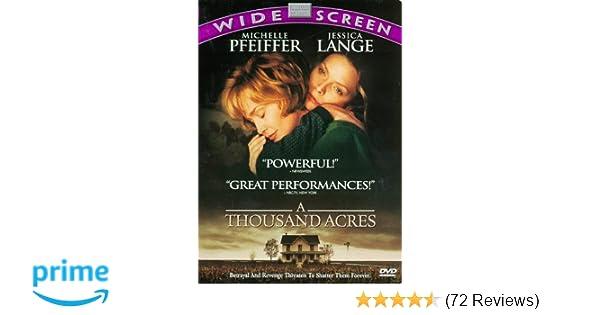 Amazon com: A Thousand Acres: Michelle Pfeiffer, Jessica