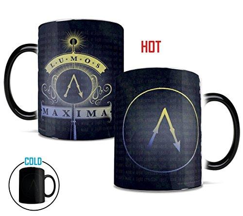Morphing Mugs Harry Potter Lumos Maxima Heat Reveal Ceramic Coffee Mug - 11 -