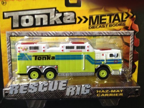 Tonka Rescue Rigs - Haz-Mat Carrier