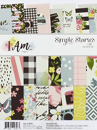 (Simple Stories I Am... 6x8 Paper Pad)