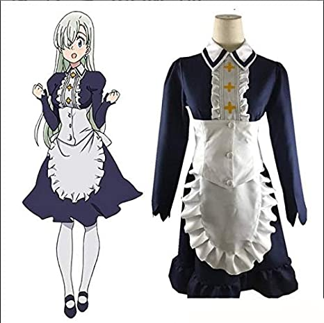 Kostüm For The Seven Deadly Sins Elizabeth Liones Cosplay Halloween Party Suit