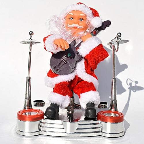 fghfhfgjdfj Eléctrico Santa Claus Tocando Piano Música Mu?eca ...