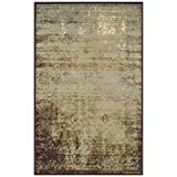 Superior Modern Afton Acid Wash Area Rug Collection 4X6 Slate