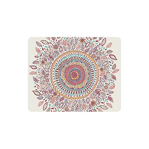 Personalized Sunflower Medallion Comfort Mouse Pad Gaming Mouse Mice Pad (Medallion Sunflower)