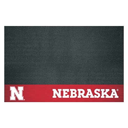 NCAA University of Nebraska - Blackshirts Cornhuskers Grill Mat Tailgate Accessory (Nebraska Cornhuskers Grill Mat)