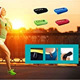 fitbit one with clip - LTDD Silicone Replacement Clip Belt Holder Clip for Fitbit One Activity Tracker-Black