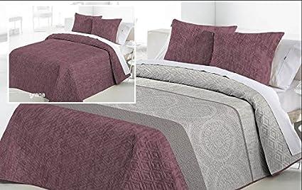 Textilhome - Colcha Bouti Lewis - Cama de 150/160 cm. Color ...