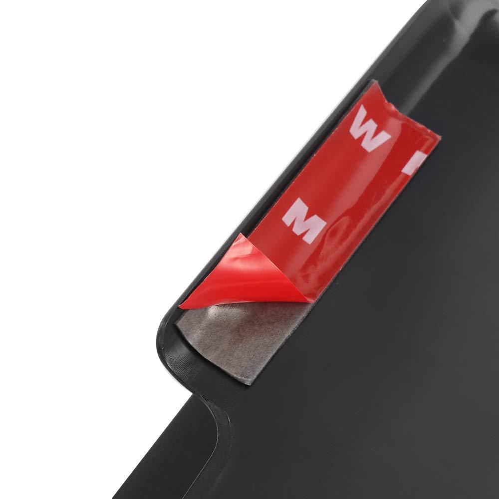 Winbang Caja de Almacenamiento para autom/óvil 1 par de reposabrazos Laterales internos para autom/óvil Bandeja de Almacenamiento Accesorios para el Peinado del autom/óvil