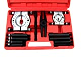 HFS R Bar-Type Puller/Bearing Separator Set in Molded Storage and Carrying Case - 5 Ton