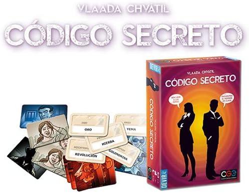 Devir- Código Secreto Juego de Mesa, Multicolor, única (BGCOSE): Amazon.es: Juguetes y juegos